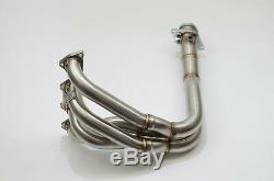1320 Performance B series Toda header ported tig welded B18 b18c b16 gsr ls si