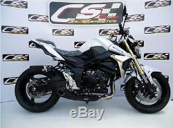 2014-15 Suzuki GSR 750A GSX-S 750 Full Exhaust System + dB Killer CS Racing