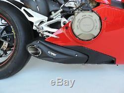 2018-20 Ducati Panigale V4S CS Racing Slip-on Muffler Exhaust Video Available