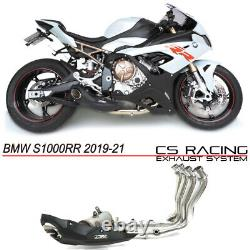 2019-21 BMW S1000RR Full Exhaust CS Racing Video Sound in the Description