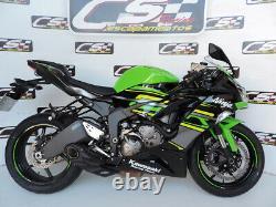 2019-21 Kawasaki ZX-6R Ninja 636 CS Racing Slip-on Exhaust + dB Killer (+3.7hp)