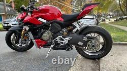 2020-on Ducati StreetFighter V4 CS Racing Slip-on Exhaust Muffler + dB Killer