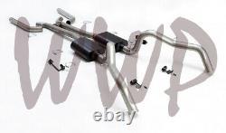 3 Header Back Exhaust System 67-69 Camaro/Firebird F-Body With Flowmaster Muffler