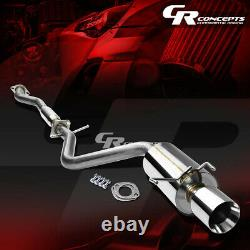 4 Rolled Muffler Tip Catback Racing Exhaust System For 01-05 Lexus Is Xe10 2jz