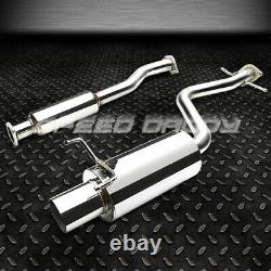 4 Tip Muffler Racing Catback+header Exhaust For 01-05 Lexus Altezza Is300 2jz