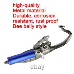 50CC Exhaust Muffler Pipe System Scooter Moped Racing For Yamaha Breeze Jog