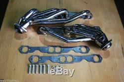 88-97 GMC Chevy Truck Stainless Steel Headers Manifolds Racing SS 5.0L 5.7L KIT