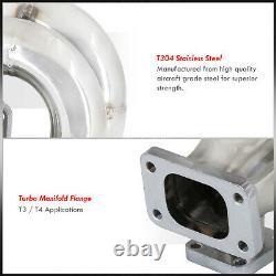 B16 B18 Civic Integra Vtec T3/T4 T3 Flange Equal Length Turbo Header Manifold