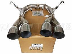 Blox Racing Axle-Back Muffler Delete Exhaust for 15-20 Subaru WRX & STi