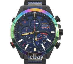 CASIO Edifice Red Bull Racing EQB-500RBB-2AJR Solar Powered Radio Men's V#101069