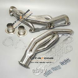 Exhaust Manifold Headers 88-97 CHEVY/GMC C/K GMT400 5.0/5.7 V8 PICKUP TRUCK/SUV