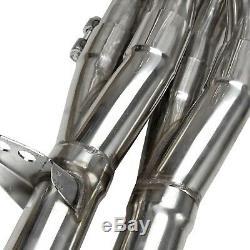 Exhaust Manifold Racing Header B16 B18b20 Fit 94-01 Acura Integra B-series Tri-y