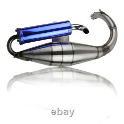 FOR HONDA DIO ELITE SYM 50 SCOOTER PERF RACING EXHAUST With EXPANSION CHAMBER