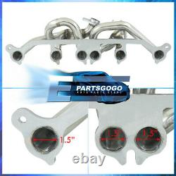 For 01-06 Jeep Wrangler TJ 4.0L AMC Stainless Steel Race Exhaust Manifold Header