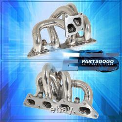 For 03-06 Mitsubishi Lancer Evolution EVO 4G63 Exhaust Header Turbo Manifold