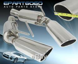 For 05-09 Ford Mustang Gt Shelby Exhaust Axleback Kit System Direct Bolt Slip On