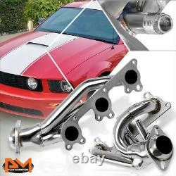 For 05-10 Ford Mustang 4.0L V6 Stainless Steel Racing Exhaust Header Manifold