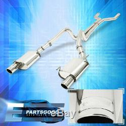 For 05-10 Ford Mustang Gt 4.6L/5.4L Performance S/S Catback Exhaust System Pipe