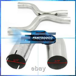 For 11-14 Mustang GT 5.0 V8 Coyote Boss 302 Catback Exhaust System + 5 Dual Tip