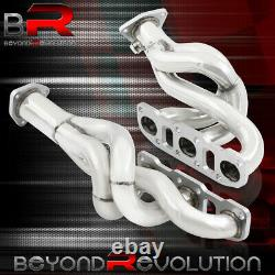For 2003-2006 Nissan 350Z G35 VQ35DE 3.5L V6 S/S Racing Headers Exhaust Manifold