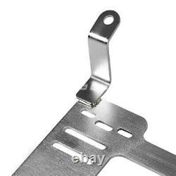 For 350z Z33 Fairlady Nrg Tensile Stainless Steel Racing Seat Mount Bracket Rail