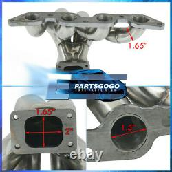 For 84-87 Toyota Corolla AE86 1.6L 4AGE Stainless Steel Turbo Exhaust Manifold