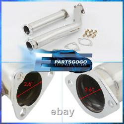 For 86-92 Mazda RX7 FC3S JDM Stainless Steel Racing Performance Downpipe Exhaust