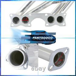 For 90-95 Nissan D21 Hardbody Pickup 2.4L 4WD Steel Exhaust Race Header Manifold