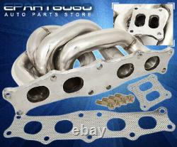 For 91-95 Toyota MR2 CT25 CT26 Stainless Racing Exhaust Turbo Manifold Assembly