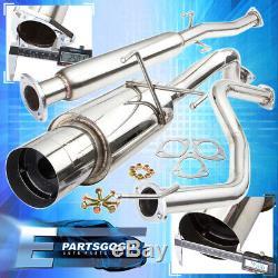 For 92-95 Honda Civic Eg Coupe Sedan 2.5 Catback Exhaust Muffler System 4.5Tip