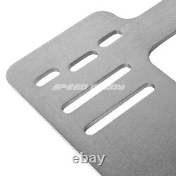 For 92-99 Bmw E36 2dr Nrg Tensile Stainless Steel Racing Seat Mount Bracket Rail