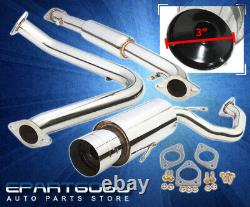 For 95-99 Mitsubishi Eclipse Rs Gs Talon 2.0/2.4L N/A Catback Exhaust System