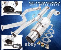 For 96-00 Honda Civic Hatch Racing Stainless 3 Exhaust Muffler Catback System