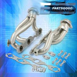 For 96-01 Chevy S10 Blazer Sonoma 4.3L V6 4WD Steel Exhaust Race Header Manifold