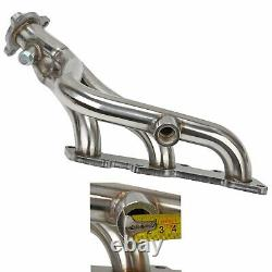 For 98-04 Nissan Frontier/pathfinder V6 Stainless Racing Header Exhaust Manifold