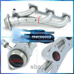 For 98-09 Ford Ranger Explorer 4.0L V6 Steel Exhaust Performance Shorty Headers