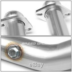 For 99-04 Mustang 4.6l 2.5 Stainless Racing Catback Exhaust 2-bolt X-pipe Kit