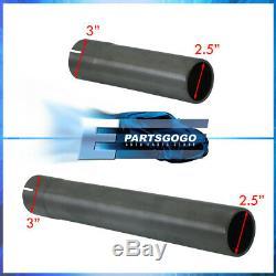 For 99-05 Jetta / Golf 1.8T Full 3 Gunmetal Turboback Catback Exhaust System