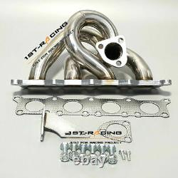 For Audi A4 /VW Passat 1.8T 210HP Racing Turbo Exhaust Manifold Header Stainless