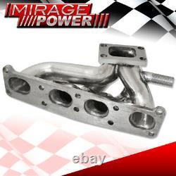For Mazda 626 Protege MX6 FP 1.8 FS 2.0 T25 Flange Turbo Manifold Exhaust Header