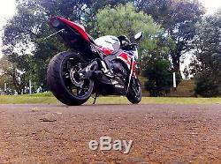 Honda CBR1000RR 2012-14 (12-16 USA) CS Racing Exhaust Slip-on Muffler +dB Killer