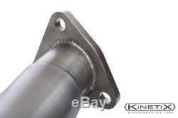 Kinetix Racing High Flow Catalytic Converters for 2003-2006 Infiniti G35 VQ35DE