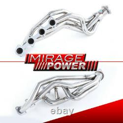 Long Tube S/S Exhaust Header Manifold For 1996-2004 Ford Mustang Gt Mach1 Bullit