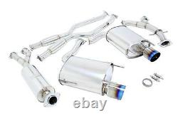 Megan Racing Oe-rs Series Catback Exhaust For 06-13 Lexus Is250 Is350 Rwd Only