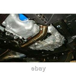 Megan Racing Stainless Downpipe Exhaust Pipe For 12-15 Honda Civic EX DX LX 1.8L