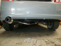 Megan Racing Stainless Steel Catback Exhaust Fits Scion Tc 11-16 Titanium Tip