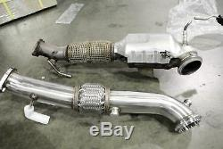 Megan Racing Stainless Steel Downpipe Exhaust Ford Focus ST 13-17 MR-SSDP-FF13ST