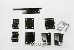 OBX Black Racing Sport Roll Bar Fits 06-15 Mazda Miata Double Diagonal