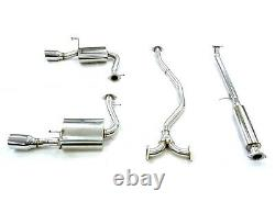 OBX Racing Catback for 16-21 Honda Civic 1.5T 4Dr H/B EX EX-L LX Touring Exhaust