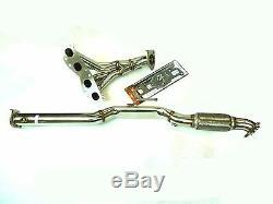 OBX Racing Exhaust Header For 08-13 Nissan Altima 2Dr / 07-18 4Dr. 2.5L QR25DE